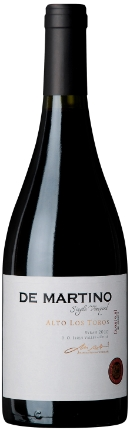Syrah Reserva Single Los Toros 2.011 De Martino Vineyards
